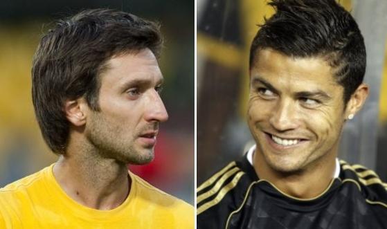 """Deividui Šemberui ir CSKA teks kautis prieš """"Real"""" su Cristiano Ronaldo."""