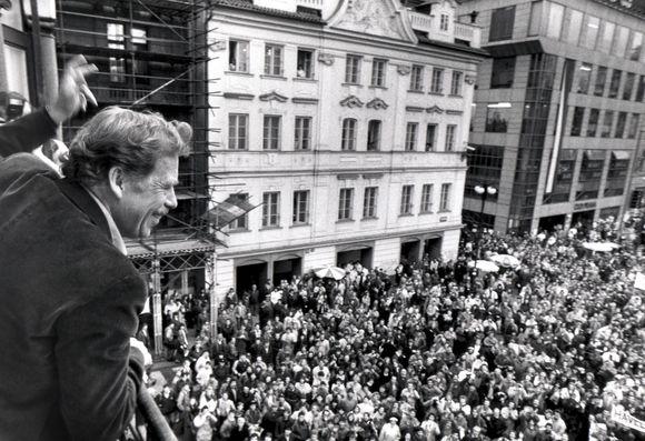 Vaclavas Havelas 1989 metais