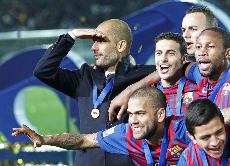 Barselonos futbolininkai triumfavo Pasaulio klubų taurės turnyro finale