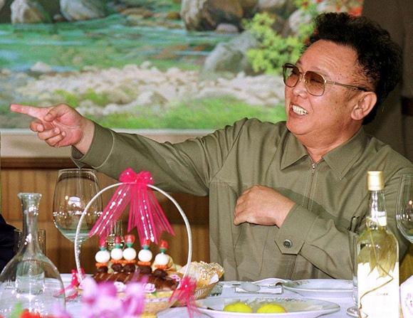 Šiaurės Korėjos lyderis Kim Jong-Ilas (2000 m. birželio 15 d.)