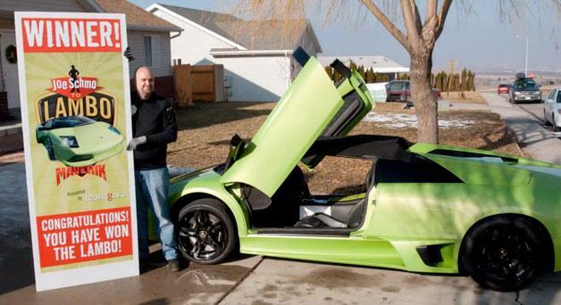 """Laimėtas """"Lamborghini Murcielago"""""""