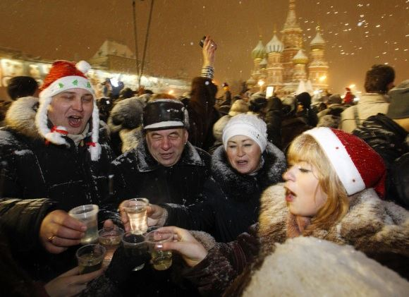 Nauji metai Maskvoje