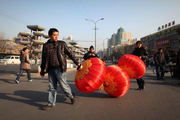Kinai ruoaiasi Naujiems metams