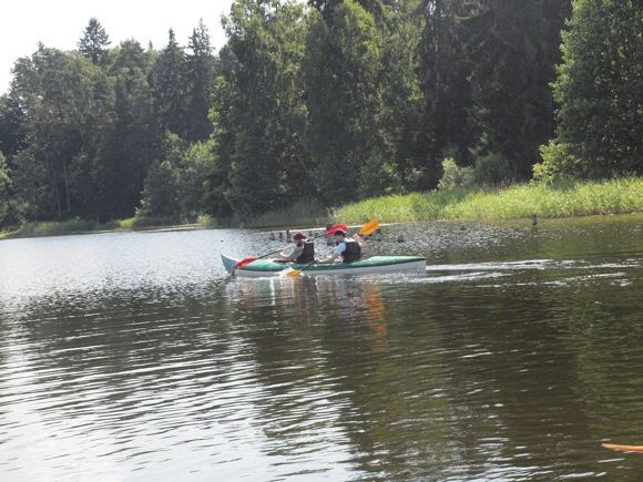 `iaulių rajone esantis ežeras