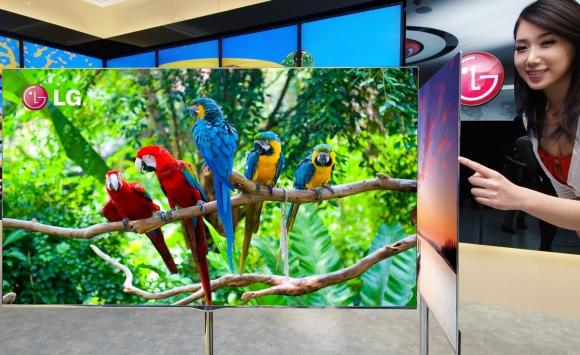 LG pristato 55 colių įstrižainės OLED televizorių