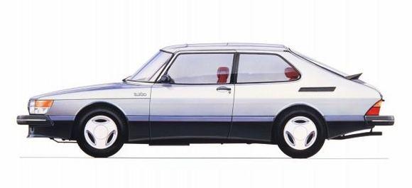 Gamintojo nuotr./1984 m. SAAB 900 Turbo