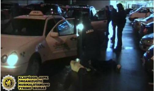 Policininkai sučiupo narkotikų platintojus.