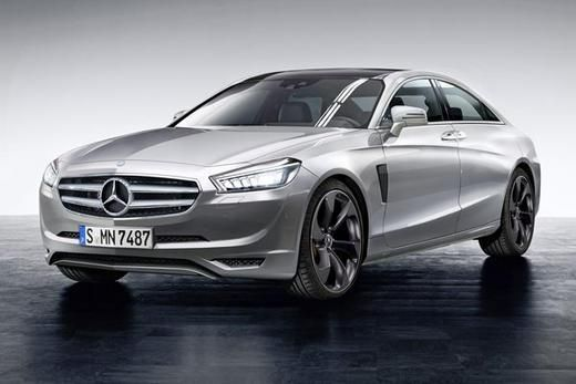 """Mercedes-Benz"" koncepcinis sedanas"