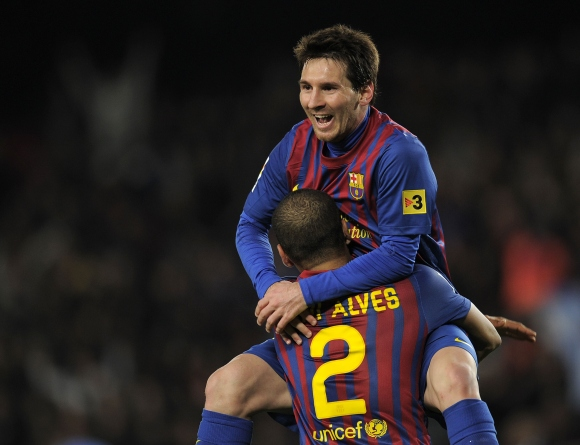 Lionelis Messi pelnė du įvarčius.
