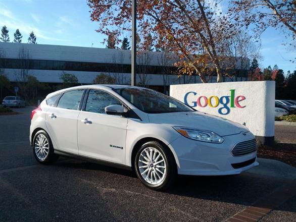 """Ford Focus Electric"" ""Google"" kieme"