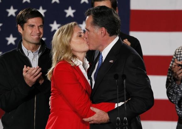 Mittas Romney su žmona Ann