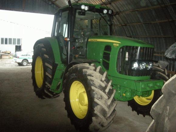 Rastas pavogtas traktorius