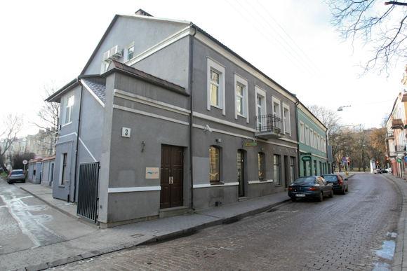 Juliaus Kalinsko/15 minučių nuotr./Dėl patalpų aiame pastate kilo konfliktas