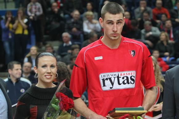 Rima Valentienė ir Jonas Valančiūnas