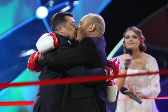 Vytautas Šapranauskas ir Jurijus Smoriginas