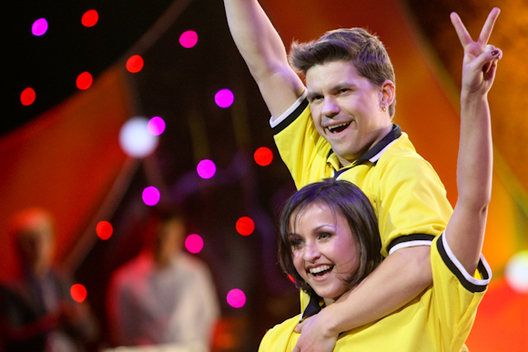 Deivis Norvilas ir Katerina Voropaj