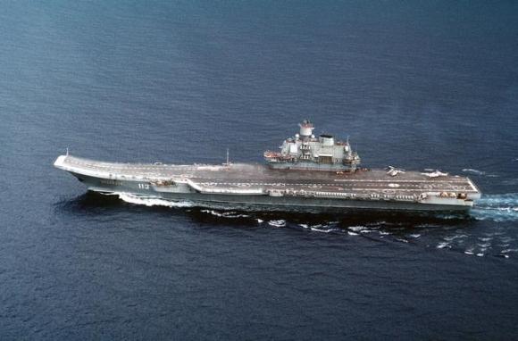"""Lėktuvnešis """"Admiral Kuznecov"""""""