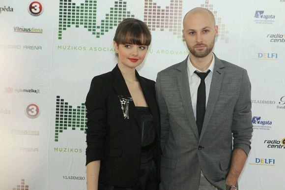 Gabrielė Martirosianaitė ir Ramūnas Berkmanas