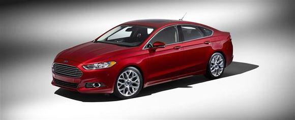 Gamintojo nuotr./Ford Fusion