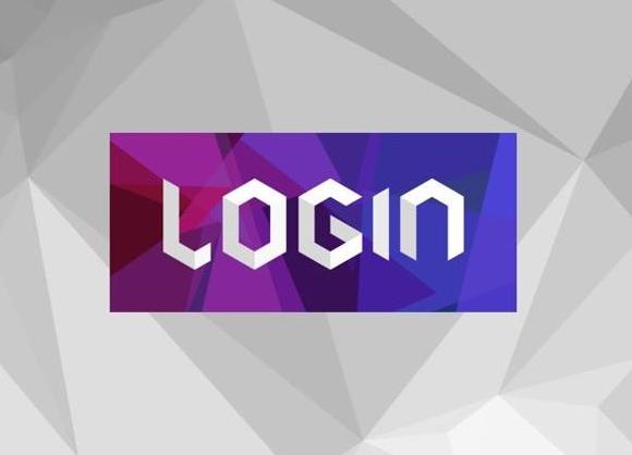 """""""Login"""" logotipas"""
