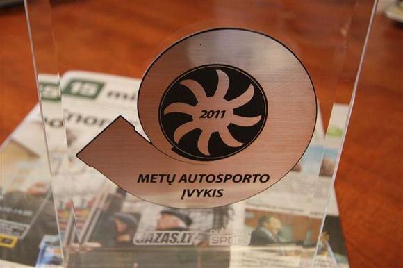 GAZAS.LT nuotr./Metų autosporto įvykis 2011 apdovanojimas