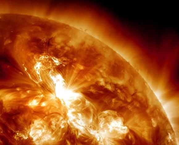 Sausio 23 dieną įvykęs Saulės žybsnis