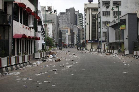 Reuters/Scanpix nuotr./Lagoso gatvė