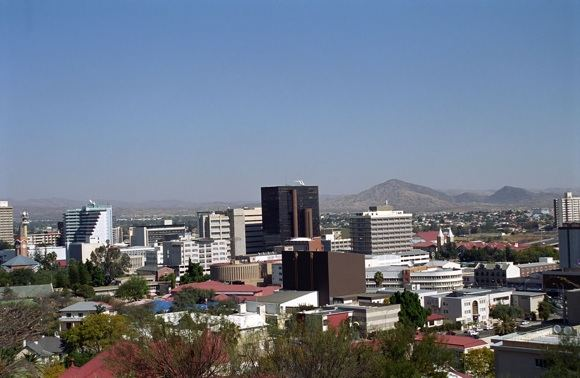123rf.com nuotr./Namibijos sostinė Vindhukas