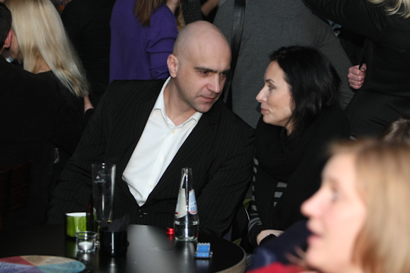 Algis Ramanauskas su išrinktąja Rasa