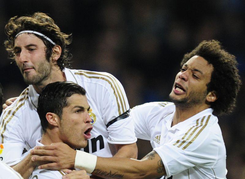 E.Granero, C.Ronaldo ir Marcelo