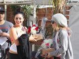 Scanpix nuotr./Vanessa Hudgens ir Ashley Tisdale po aokių repeticijos