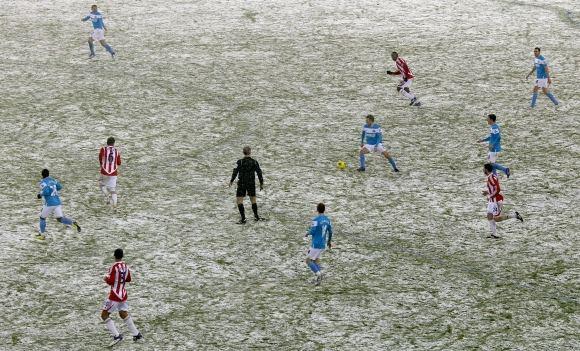 Scanpix/AP nuotr./Stoke City ir Sunderland komandų susitikimas