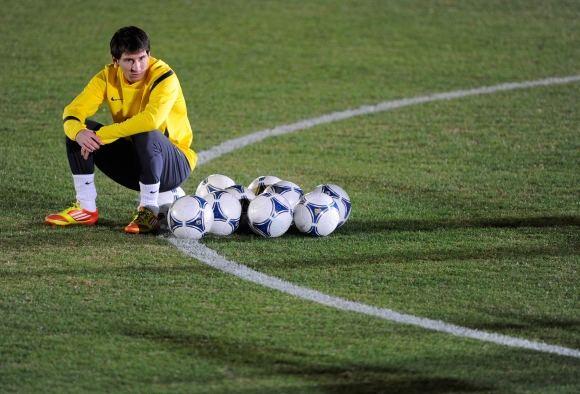 AFP/Scanpix nuotr./Lionelis Messi