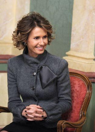 """""""Scanpix"""" nuotr./Sirijos diktatoriaus žmona Asma"""
