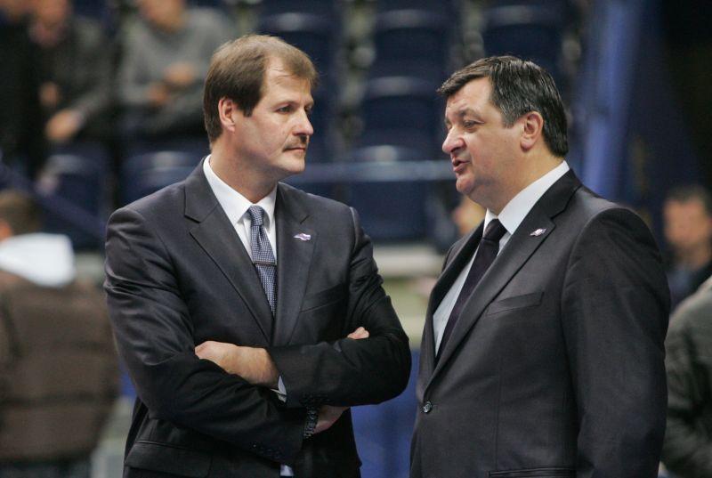 Gintaras Krapikas ir Aco Petrovičius