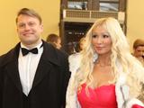 Dainius Barzinskas su žmona Irina