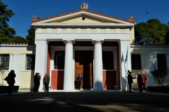 Scanpix nuotr./Apiplėatas muziejus Olimpijoje, Graikijoje