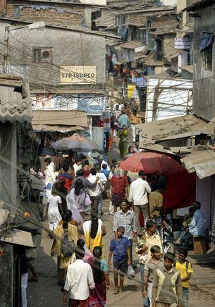 Reuters/Scanpix nuotr./Dharavi lūanynas Mumbajuje