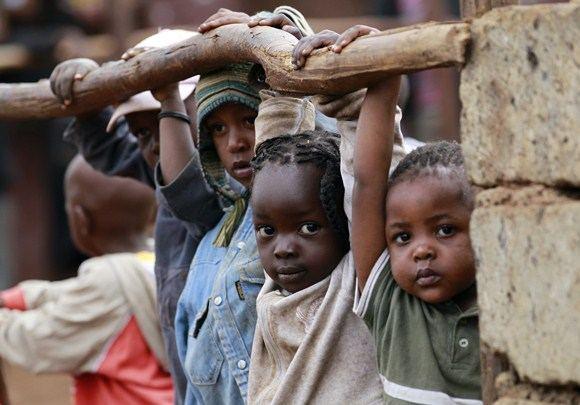 Reuters/Scanpix nuotr./Kiberos lūanynas Nairobyje