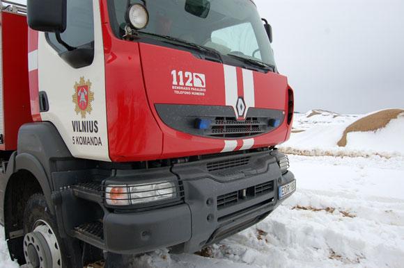 Vilniaus ugniagesių automobilis