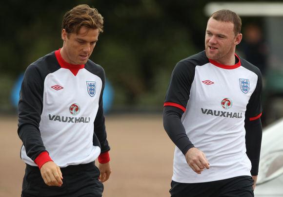 Scanpix nuotr./Scottas Parkeris ir Wayne'as Rooney
