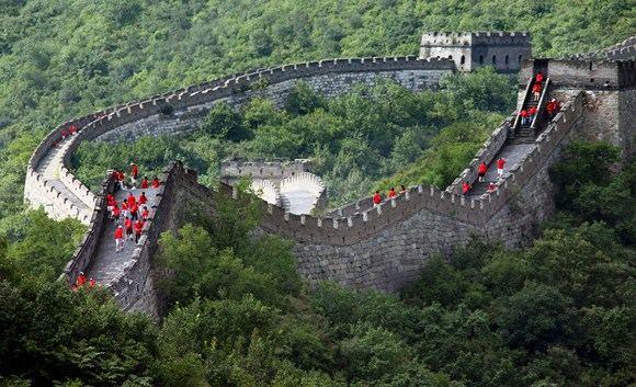 AFP/Scanpix nuotr./Didžioji kinų siena