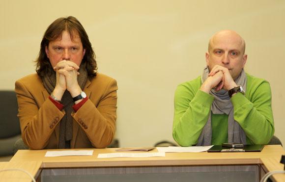(iš dešinės) Vytautas Balsys, Ramūnas Šimukauskas