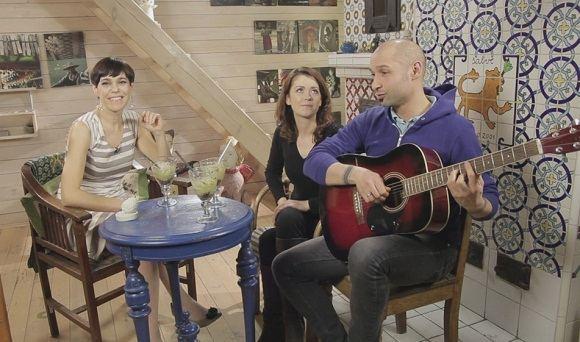 BTV nuotr./Nomedos Marčėnaitės kulinarinė laida filmuojama jos namuose