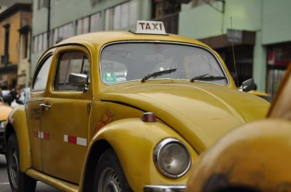 Geltonas taksi vabalas