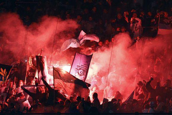 Scanpix nuotr./Rungtynių akimirka Milane