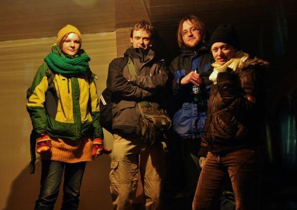 M.Vadiaio nuotr./Įstrigę Kaukaze: Berta, Mykolas, Tomas ir Regina