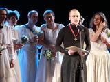 """15min.lt/Irmanto Gelūno nuotr. /Metų teatro reiškiniu tapo teatro judėjimas """"No theatre"""" ir Vidas Bareikis."""