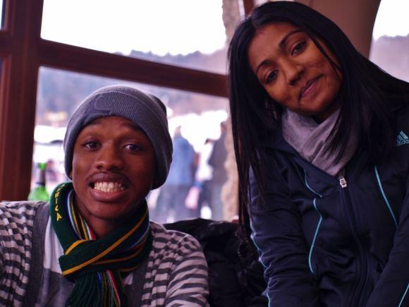 N.Singer nuotr./KC ir Marishka ia Pietų Afrikos