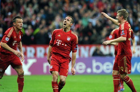 AFP/Scanpix nuotr./Įvarčiu džiaugiasi  Bayern